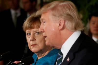 امریکی صدر اور جرمن چانسلر کی ٹیلیفون پر عالمی مسائل پربات چیت