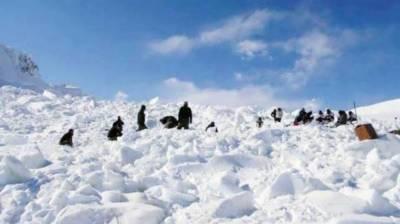 مقبو ضہ کشمیر:برفانی تودہ گرنے سے 6 شہری اور 5فوجی ہلاک