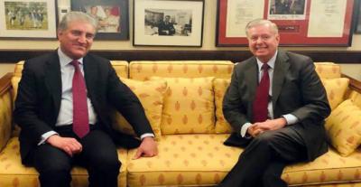 امریکی سینیٹر نے افغانستان میں امن واستحکام کیلئے پاکستان کے مصالحتی کردارکوسراہا