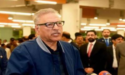 کراچی،صدر کامعاشرے کے مستحق اور غریب طبقے کیلئے قائم پناہ گاہ اور ٹراما ہسپتال کا دورہ