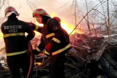 گوجرانوالہ: ریلوے اسٹیشن پر لگنے والی آگ 18 گھنٹے بعد بجھا دی گئی