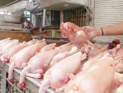 مرغی کے گوشت کی قیمت 40 روپے کلو تک کا اضافہ ہوگیا