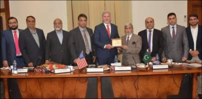 امریکا کی پاکستان کے ساتھ دو طرفہ تجارتی تعلقات کو فروغ دینے میں دل چسپی