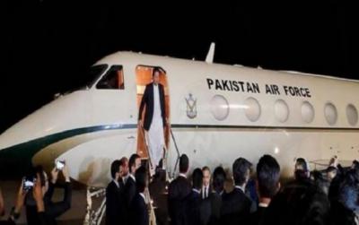 وزیر اعظم عمران خان ڈیووس سے وطن واپس پہنچ گئے