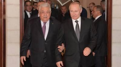 روس اور فلسطین کے صدورکی اسرائیل کی طرف سے فلسطینی علاقے پر حالیہ قبضے پر بات چیت