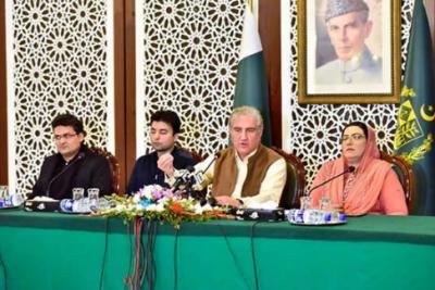 بھارت پاکستان کو ایف اے ٹی ایف کی بلیک لسٹ میں دھکیلنا چاہتا ہے، وزیر خارجہ