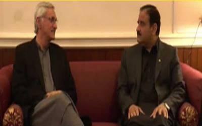 وزیر اعلیٰ پنجاب اور جہانگیر ترین میں ملاقات ،سیاسی صورتحال پر تبادلہ خیال