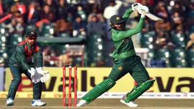 پاکستان اور بنگلہ دیش کے درمیان تیسرا ٹی ٹونٹی میچ کل کھیلا جائیگا