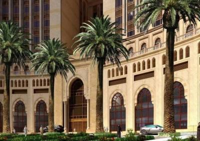 مکہ مکرمہ میں دنیا کے سب سے بڑے ہوٹل کو جلد عوام کیلئے کھول دیا جائے گا