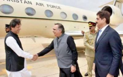 وزیراعظم عمران خان لاہور کے بعد آج کراچی کا رخ کریں گے