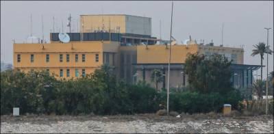 امریکی سفارت خانے پر راکٹ حملوں میں 6 افراد زخمی