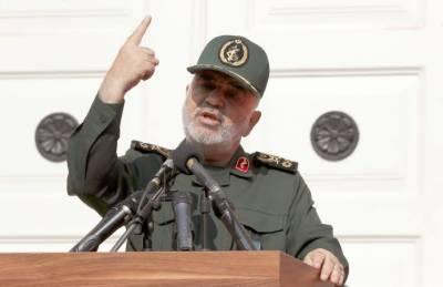 پاسداران انقلاب کے سربراہ کی امریکا اور اسرائیل کو ایک بار پھر سنگین نتائج کی دھمکی