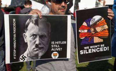 مودی کے خلاف احتجاج امریکہ تک پہنچ گیا۔
