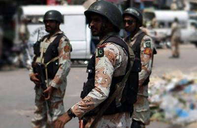 کراچی: رینجرز کی کارروائیاں,16 ملزمان گرفتار