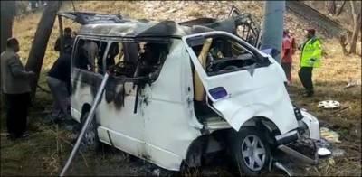 سرگودھا: بھیرہ موٹر وے پر ہونے والا حادثہ معمہ بن گیا