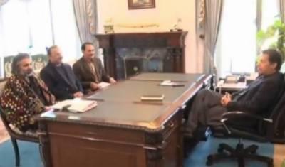 وزیراعظم عمران خان سے رکن قومی اسمبلی شاہ زین بگٹی کی ملاقات