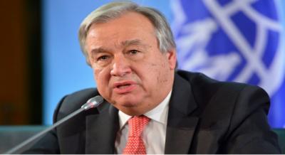 اقوام متحدہ کے سیکرٹری جنرل کی حلب میں ترکی اورشام کی سرکاری فوج کے درمیان جھڑپوں پرتشویش