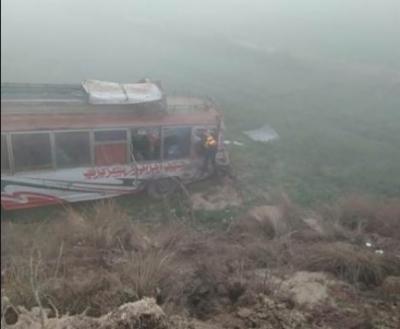 نارووال میں ٹریفک حادثہ،5افراد زخمی