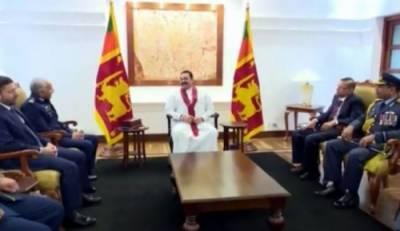سری لنکا کےوزیراعظم اورسربراہ پاک فضائیہ کے درمیان ملاقات , راجہ پاکسےکی ہرمشکل گھڑی میں سری لنکا کےلئےپاکستان کی غیرمتزلزل حمایت کی تعریف