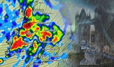 لندن: جان لیوا طوفان کا خطرہ، محکمہ موسمیات کا الرٹ جری