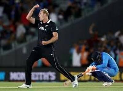 نیوزی لینڈ نے دوسرے ون ڈے میں بھارت کو 22 رنز سے ہرا کر سیریز جیت لی