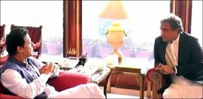 وزیر اعظم عمران خان سے وفاقی وزیر علی زیدی کی ملاقات
