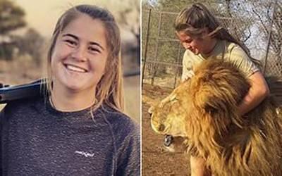 شیروں کی دیکھ بحال پر مامور 21 سالہ لڑکی شیر کے حملے میں ہلاک