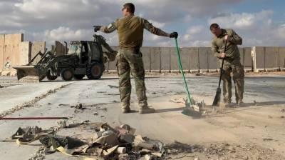 ایرانی بم باری میں 109 امریکی فوجی زخمی ہوئے۔ پینٹاگان