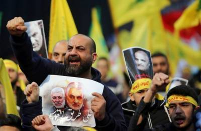قاسم سلیمانی کے قتل کے بعد عراق میں لبنانی حزب اللہ سرگرم
