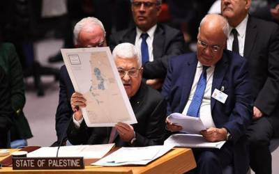 فلسطینی امریکا اسرائیل امن منصوبہ مسترد کرتے ہیں۔محمود عباس
