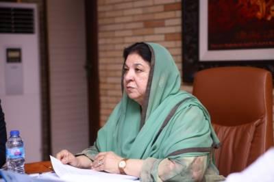 صوبائی وزیرصحت ڈاکٹریاسمین راشدکا شاہدرہ ٹیچنگ ہسپتال کا اچانک دورہ