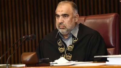 سپیکرقومی اسمبلی نے وزیراعظم اور ایک سابق صدر پر الزامات اور انتہائی توہین آمیز ریمارکس کا نوٹس لے لیا