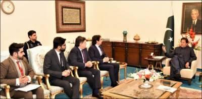 وزیراعظم سے ملاقات : کوکا کولا آئیسک کمپنی پاکستان میں مزید سرمایہ کاری کی خواہشمند