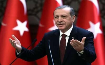 ترک صدر رجب طیب اردوان مسلم ممالک کے پسندیدہ ترین رہنماؤں میں سر فہرست
