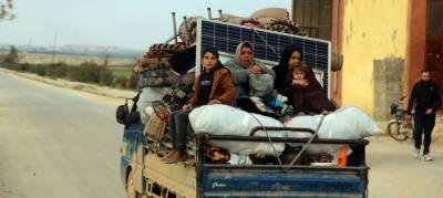 شام میں جاری لڑائی کے نتیجے میں 9 لاکھ افراد بے گھر ہوچکے ہیں۔ اقوام متحدہ