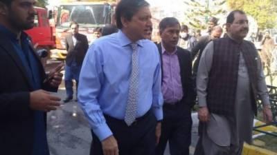 قائمقام چیئرمین سینیٹ سلیم مانڈوی والا نے پارلیمنٹ لاجز میں لگنے والی آگ پر تفصیلی رپورٹ طلب کرلی