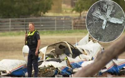 آسٹریلیا:دوطیارے ٹکرا گئے ،2پائلٹس سمیت 4افراد ہلاک