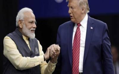 بھارت ہمارے ساتھ بہت اچھا سلوک نہیں کرتامگر مجھے نریندر مودی بہت پسند ہیں۔ ٹرمپ