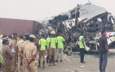 تمل ناڈو میں دردناک حادثہ، 20 ہلاک،متعدد ذخمی