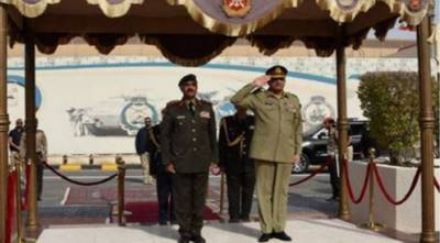 آرمی چیف کاکویت کا ایک روزہ دورہ