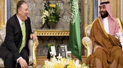 امریکی وزیرخارجہ کی ریاض میں ولی عہد شہزاد محمد بن سلمان سے ملاقات