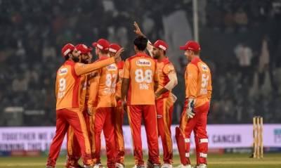 اسلام آباد یونائیٹڈ کی قلندرز کے خلاف ٹاس جیت کر باؤلنگ