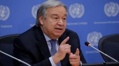 ادلب میں جھڑپوں کا فی الفور خاتمہ کیا جائے:سیکرٹری جنرل اقوام متحدہ