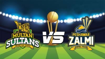 پاکستان سپرلیگ:آٹھواں میچ کل ملتان سلطانزاورپشاورزلمی کے درمیان کھیلاجائے گا