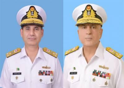 پاک بحریہ کے دو رئیر ایڈمرلز کی وائس ایڈمرل کے عہدے پر ترقی