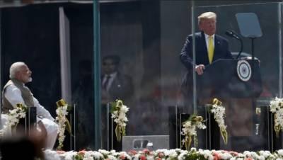ٹرمپ کی بھارتی دورہ پر پاکستان کی تعریف، بھارتی میڈیا آپے سے باہر