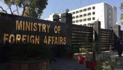 بھارتی سفارتکار کی دفتر خارجہ طلبی ،ایل او سی پر جارحیت کیخلا ف احتجاج