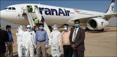 ایران سے کراچی آنے والی غیر ملکی پرواز محفوظ مقام پر پارک، مسافروں کی اسکریننگ
