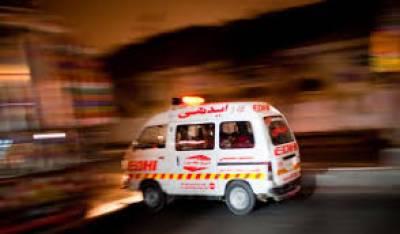 سجا ول: ٹریکٹر اور وین میں تصادم ایک شخص جاں بحق