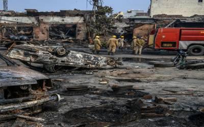 دہلی مسلم کش فسادات: 122گھر اور 322 دکانیں تباہ،عبوری رپورٹ جاری